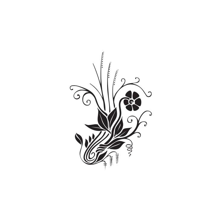 Άνθη, Διάφορα, Αυτοκόλλητα τοίχου
