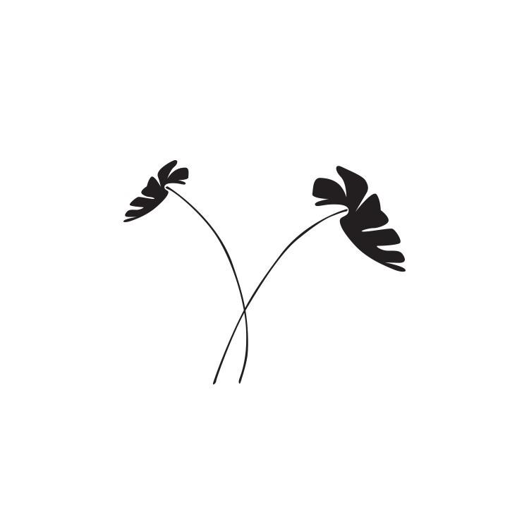 Λουλούδια, Δέντρα - Λουλούδια, Αυτοκόλλητα τοίχου