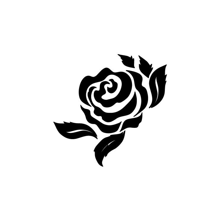 Τριαντάφυλλο, Δέντρα - Λουλούδια, Αυτοκόλλητα τοίχου