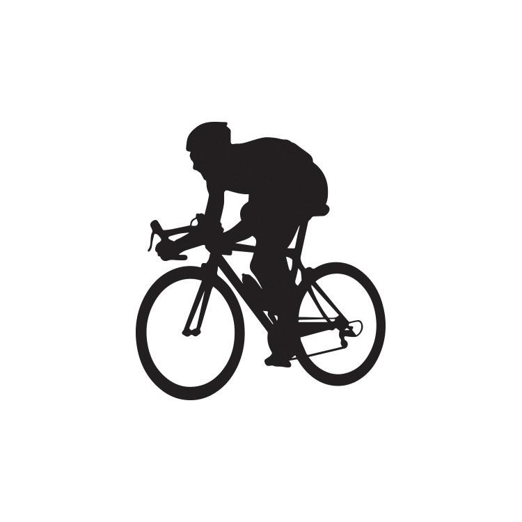 Ποδηλάτης, Σπορ, Αυτοκόλλητα τοίχου