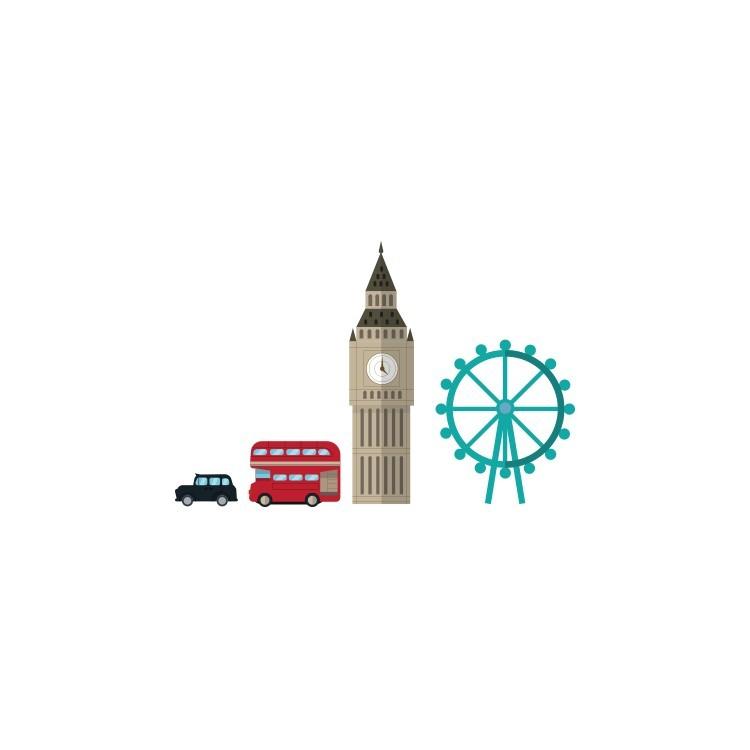 Λονδίνο, Λονδίνο, Αυτοκόλλητα τοίχου