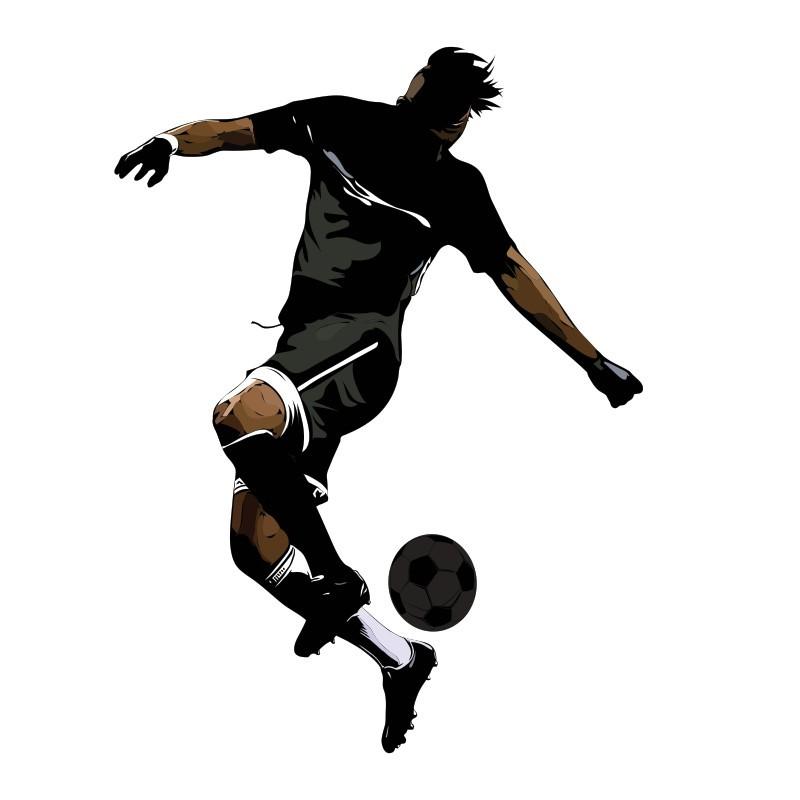 Ποδοσφαιριστής, Σπορ, Αυτοκόλλητα τοίχου