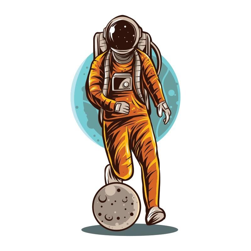 Ποδόσφαιρο στο διάστημα, Σπορ, Αυτοκόλλητα τοίχου