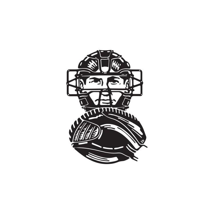 Παίχτης Μπέϊζμπολ, Σπορ, Αυτοκόλλητα τοίχου