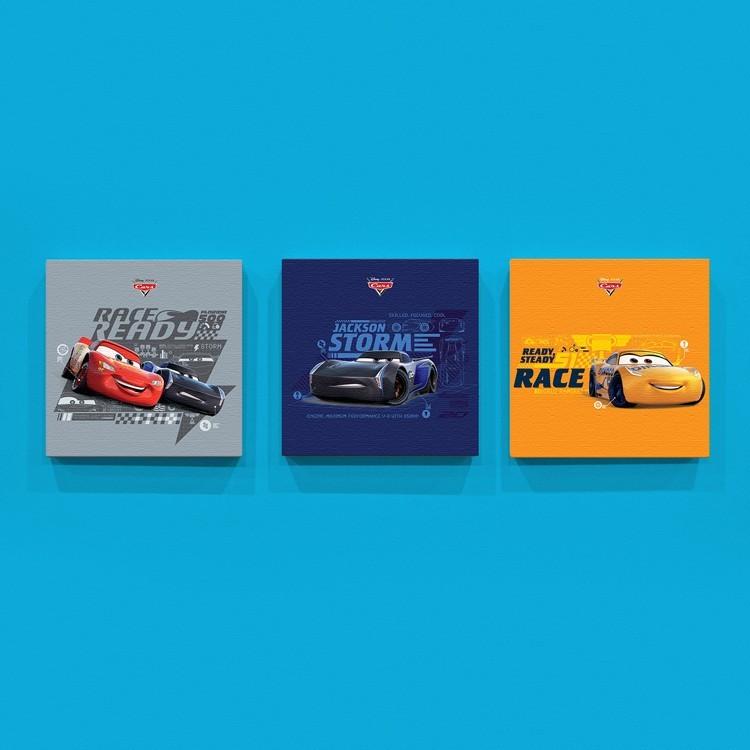 Race McQueen!, Παιδικά, Mini Set καμβάς
