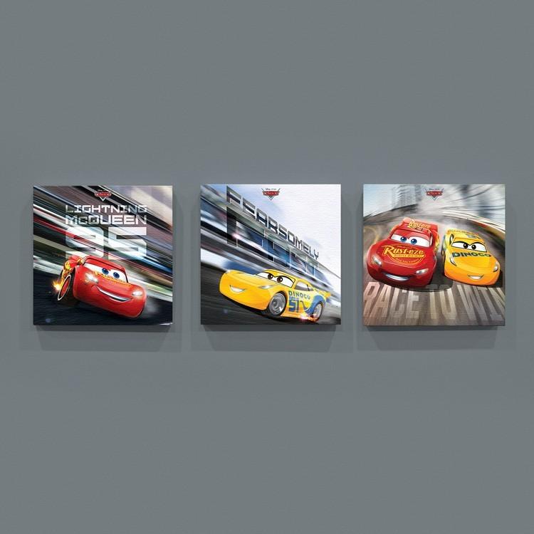 3D Cars!, Παιδικά, Mini Set καμβάς