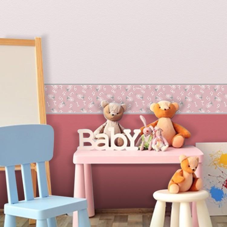 Μοτίβο με προβατάκια και αριθμούς, Mickey Mouse!, Παιδικές, Μπορντούρες