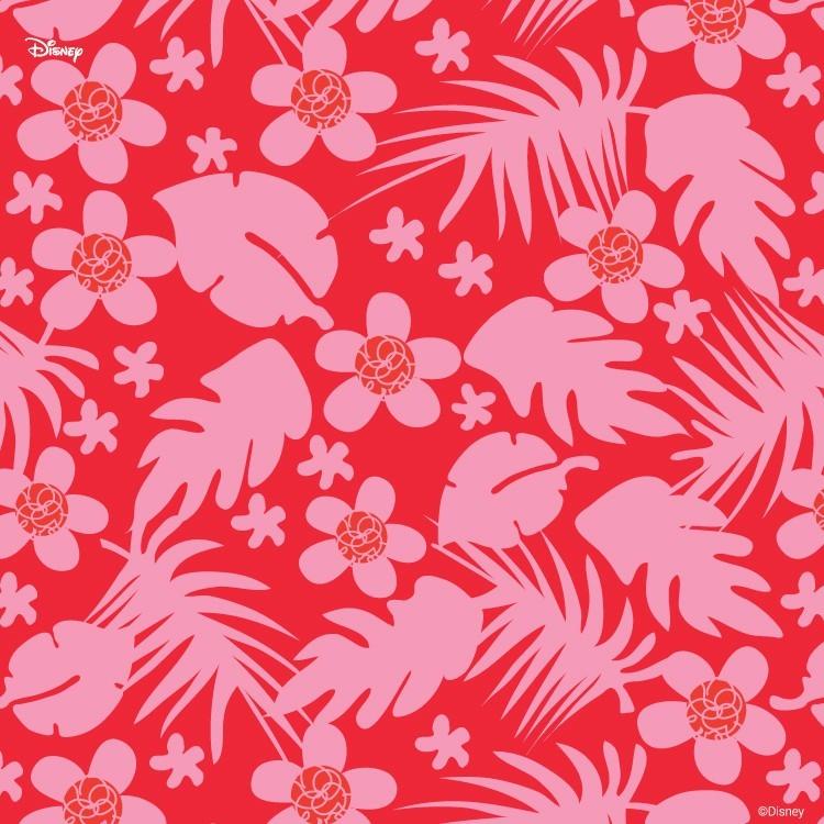 Κόκκινο μοτίβο ζούγκλας, Μίκυ Μάους!, Παιδικά, Ταπετσαρίες Τοίχου