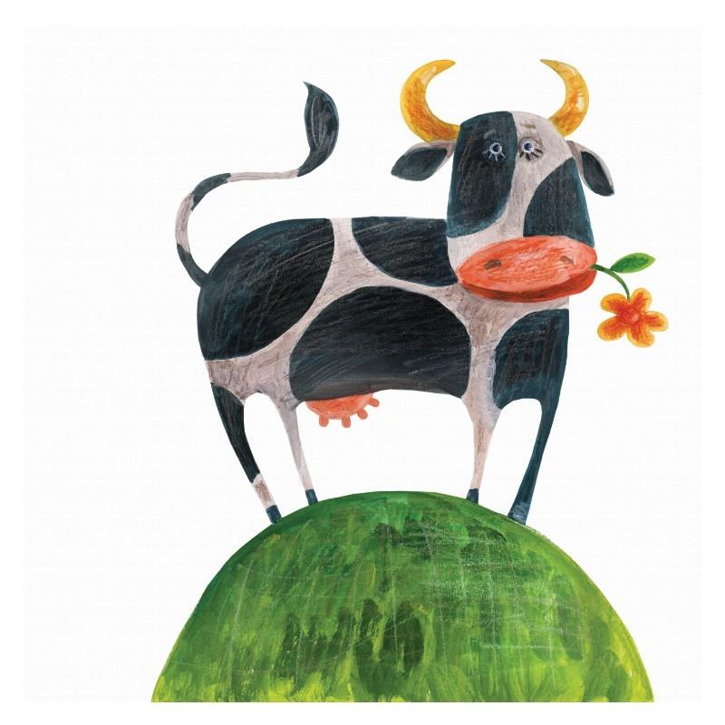 Αγελαδίτσα μασουλαέι λουλούδι, Παιδικά, Πίνακες σε καμβά