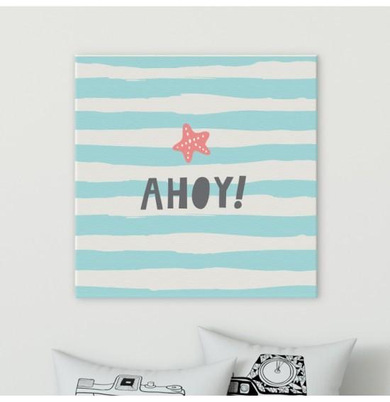 Ahoy!, Παιδικά, Πίνακες σε καμβά