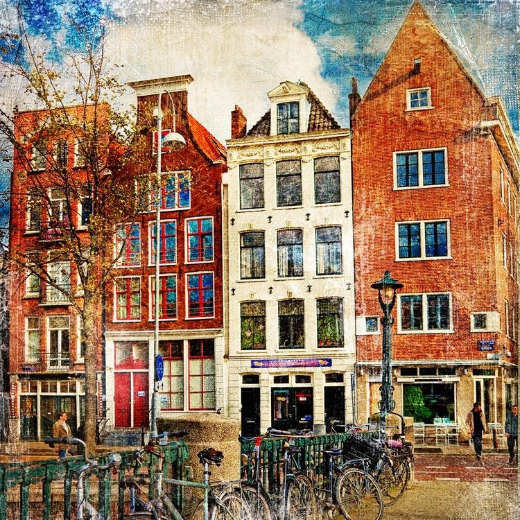 Άμστερνταμ, Πόλεις - Ταξίδια, Πίνακες σε καμβά