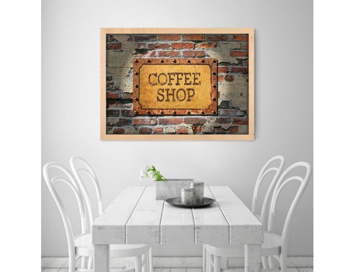 Coffee Shop Wall Art, Φαγητό, Πίνακες σε καμβά