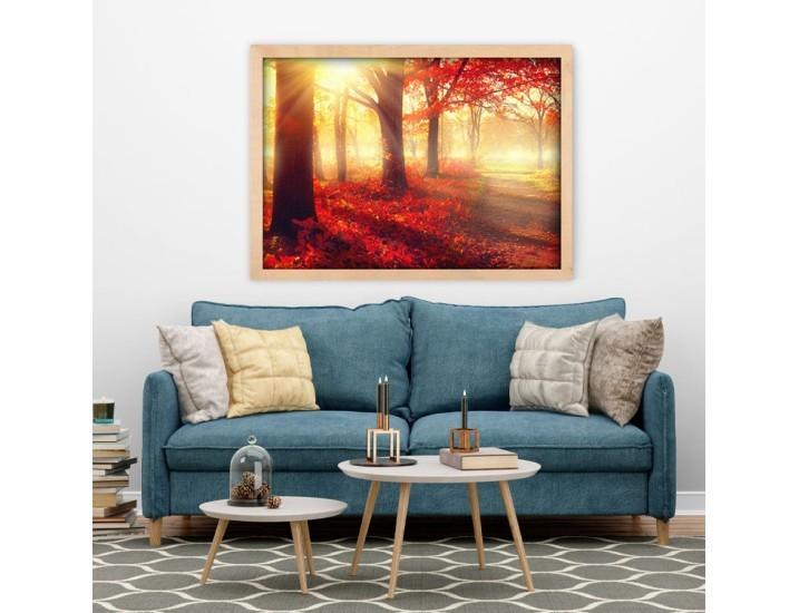 Δρόμος στη φύση, Φύση, Πίνακες σε καμβά