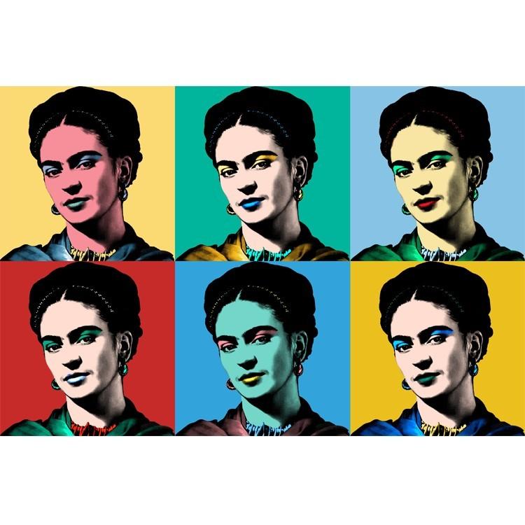Frida Khalo, Vintage, Πίνακες σε καμβά