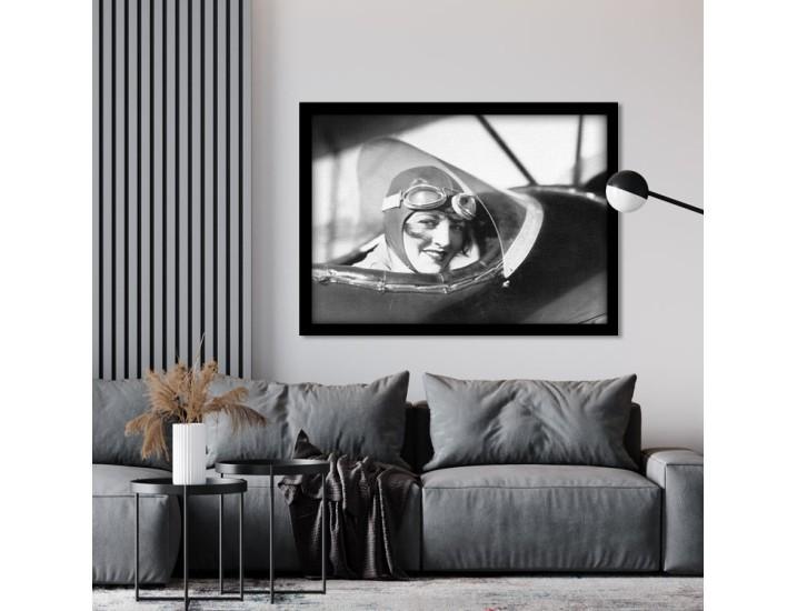 Vintage Black and White Picture, Άνθρωποι, Πίνακες σε καμβά