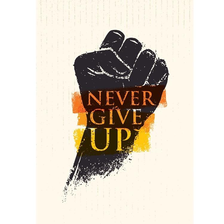 Never Give Up, Διάφορα, Πίνακες σε καμβά