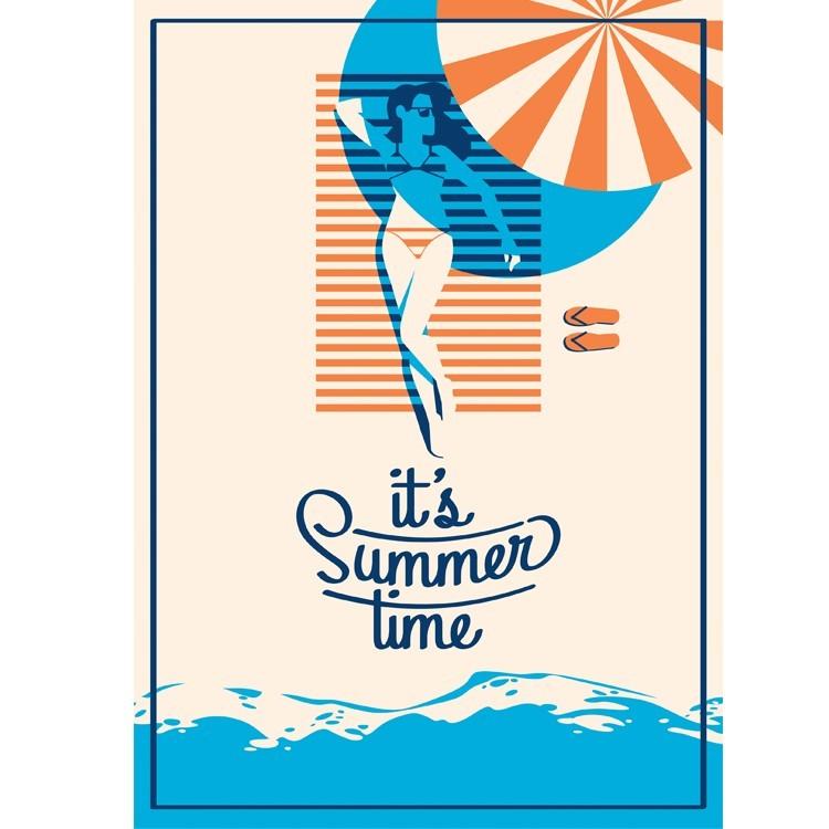It\'s Summer Time, Διάφορα, Πίνακες σε καμβά