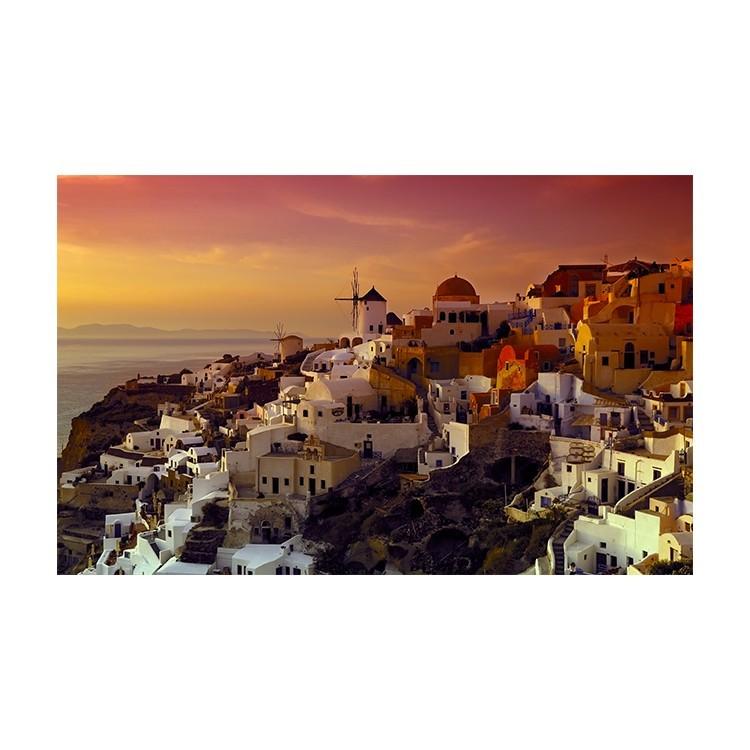 Οία, Σαντορίνη, Ελλάδα, Πίνακες σε καμβά