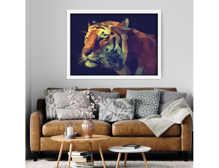Poly Tiger, Ζώα, Πίνακες σε καμβά