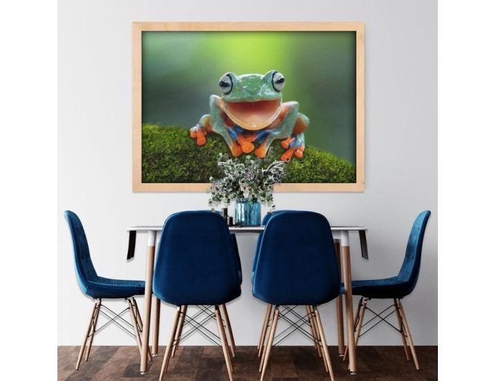 Βατραχάκι, Ζώα, Πίνακες σε καμβά