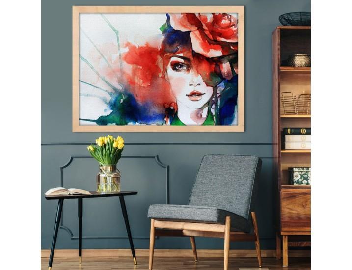 Ζωγραφιά Κοπέλας, Ζωγραφική, Πίνακες σε καμβά