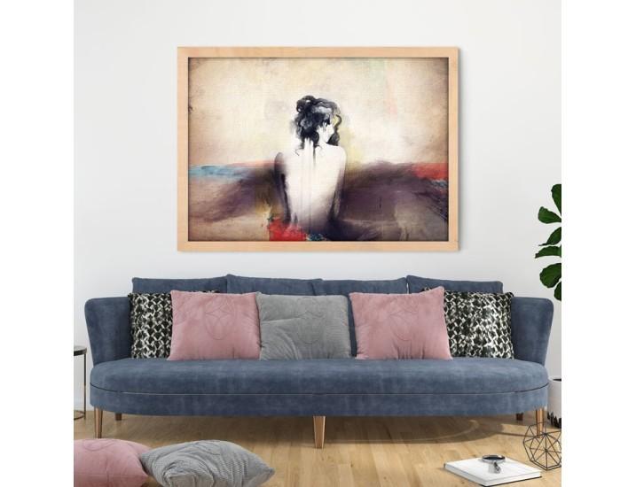 Χαμένη γυναίκα, Ζωγραφική, Πίνακες σε καμβά