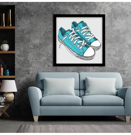 Γαλάζια Παπούτσια, Κόμικς, Πίνακες σε καμβά