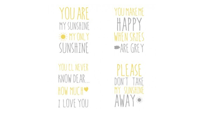 You are my sunshine, Παιδικά, Multipanel