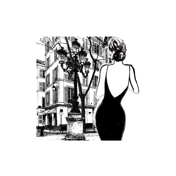 Κομψή γυναίκα, Κόμικς, Multipanel