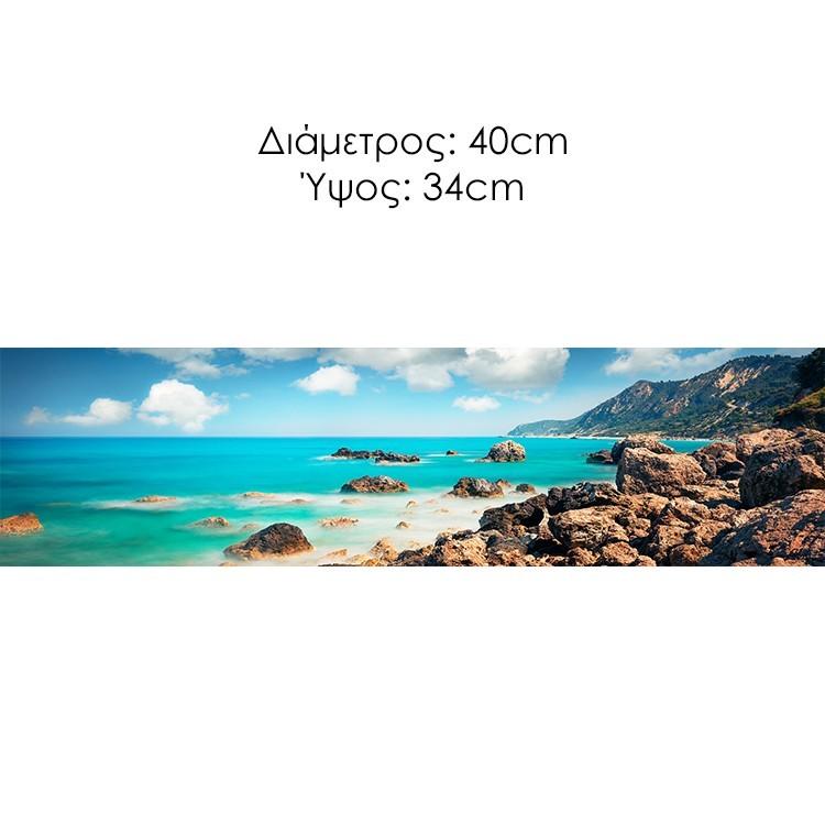Παραλία Αβαλί, Λευκάδα, Διάφορα, Φωτιστικά οροφής