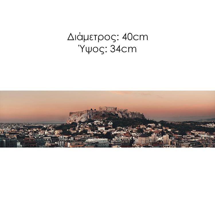 Ηλιοβασίλεμα με θέα την Ακρόπολη , Αθήνα, Διάφορα, Φωτιστικά οροφής