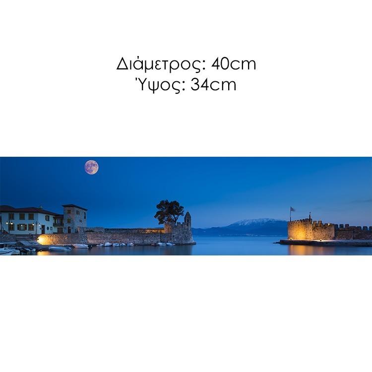Λιμάνι, Ναύπακτος, Διάφορα, Φωτιστικά οροφής