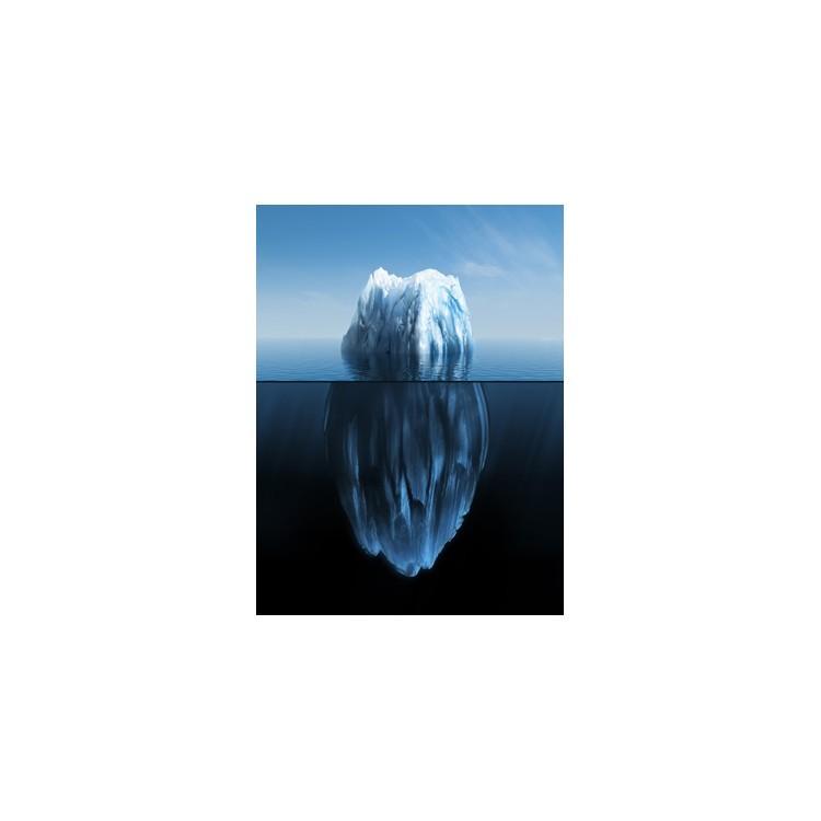 3D απεικόνιση ενός παγόβουνου, Τεχνολογία - 3D, Ταπετσαρίες Τοίχου