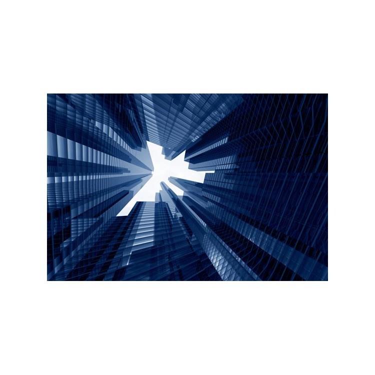 3d ουρανοξύστες, Τεχνολογία - 3D, Ταπετσαρίες Τοίχου
