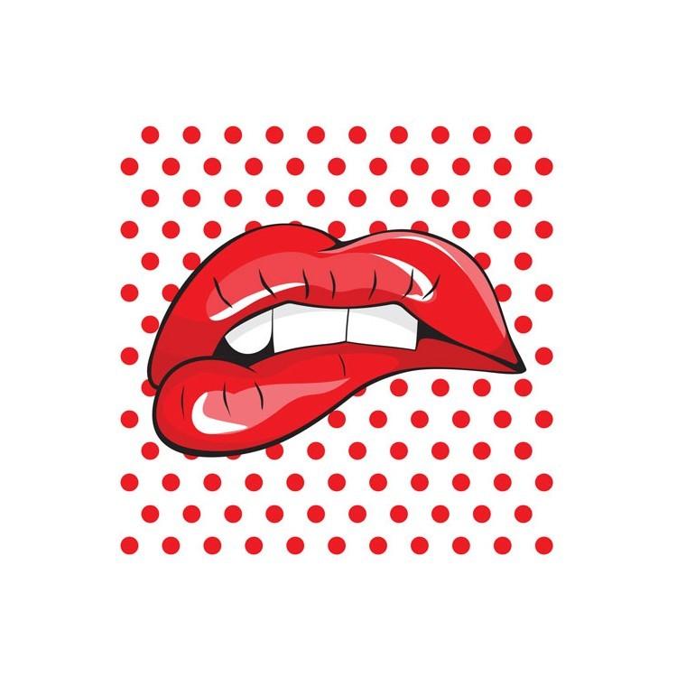 Kόκκινα χείλη, Κόμικς, Ρολοκουρτίνες