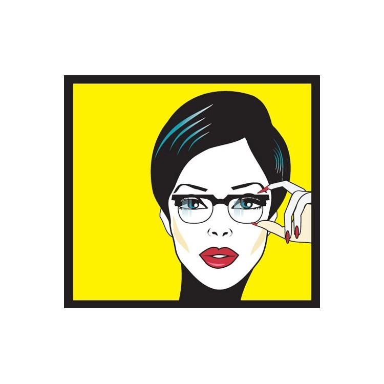 Πορτρέτο Γυναίκας, Κόμικς, Πίνακες σε καμβά