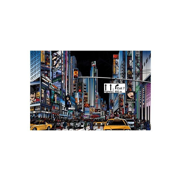 Δρόμος της Νέας Υόρκης, Κόμικς, Multipanel