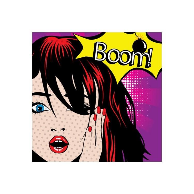 BOOM!, Κόμικς, Ρολοκουρτίνες