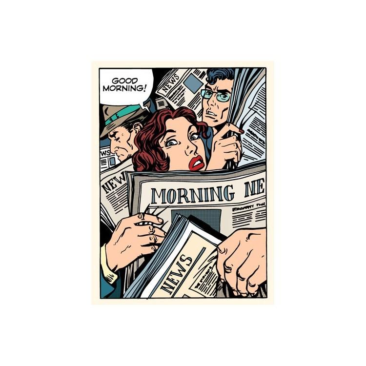 Καλημέρα!, Κόμικ, Αυτοκόλλητα ψυγείου