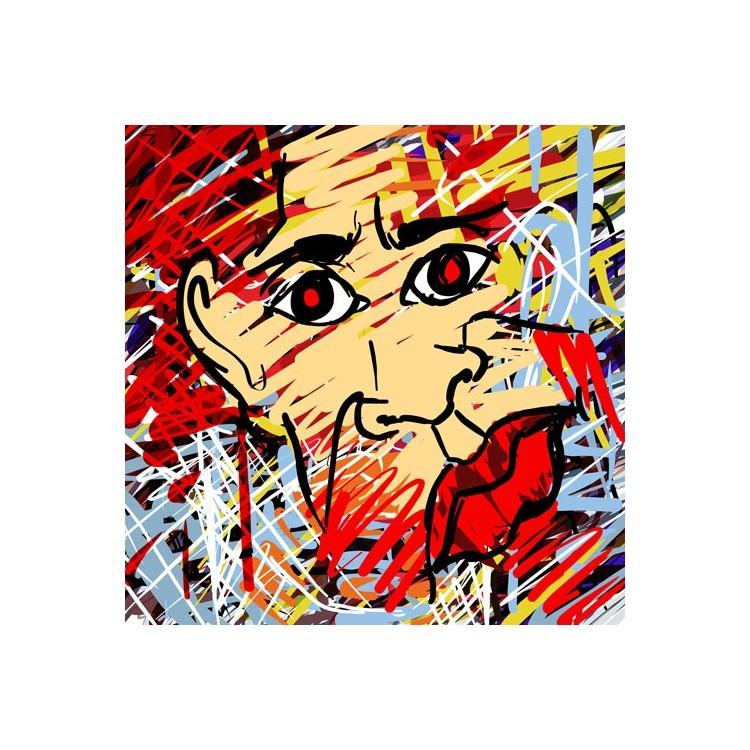 Αφηρημένο πορτρέτο, Κόμικς, Ταπετσαρίες Τοίχου