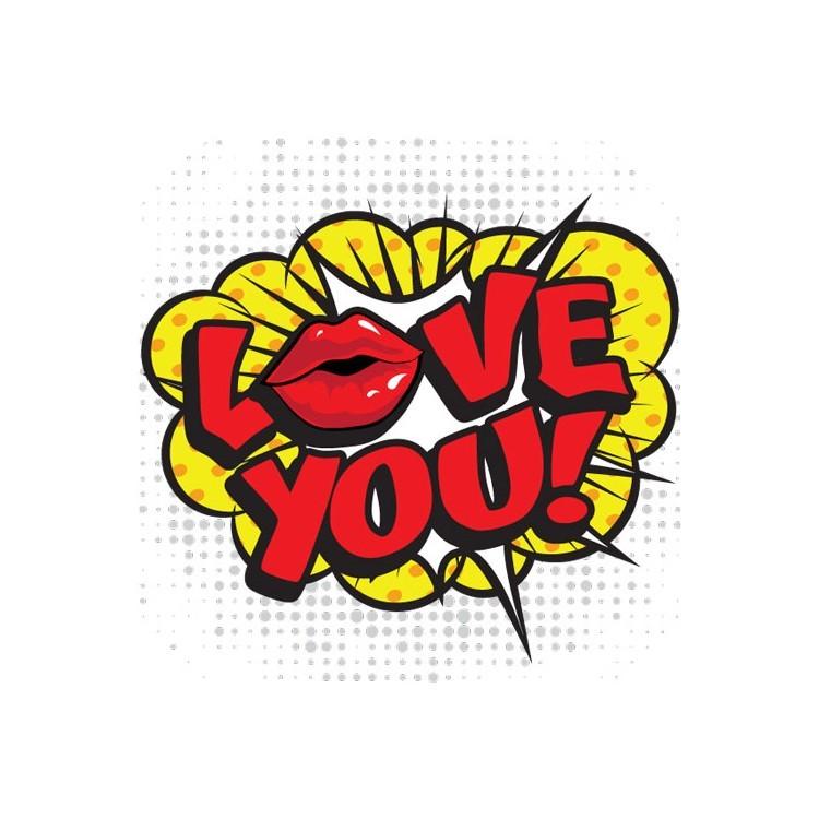 Love You!, Κόμικς, Ταπετσαρίες Τοίχου