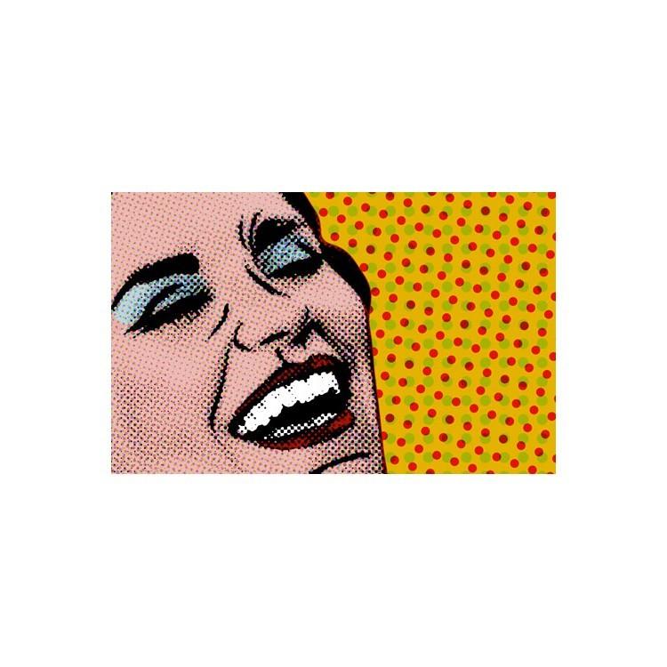 Χαρούμενη γυναίκα, Κόμικς, Ταπετσαρίες Τοίχου