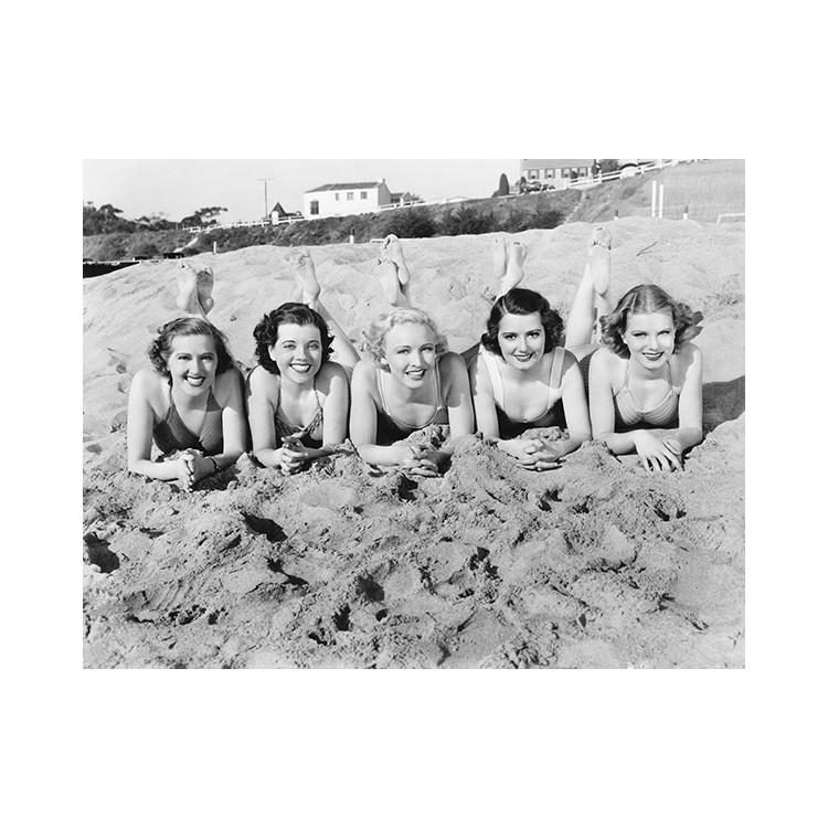 Γυναίκες στην παραλία, Άνθρωποι, Ταπετσαρίες Τοίχου