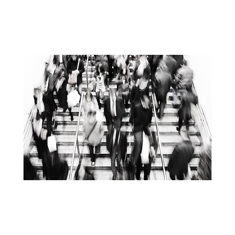 Μετρό, Άνθρωποι, Ταπετσαρίες Τοίχου