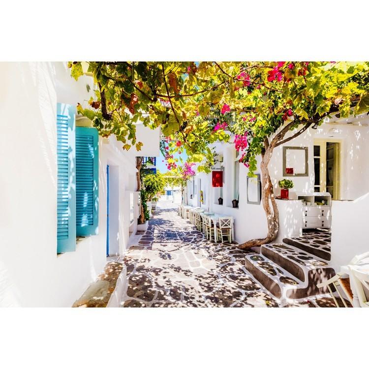 Σοκάκι στην Πάρο, Ελλάδα, Ταπετσαρίες Τοίχου