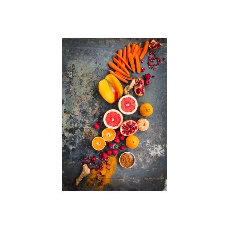 Τροπικά φρούτα, Φαγητό, Πίνακες σε καμβά
