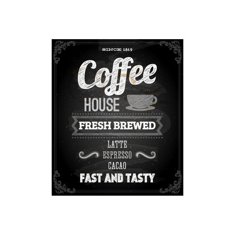 Coffee House, Φαγητό, Ταπετσαρίες Τοίχου