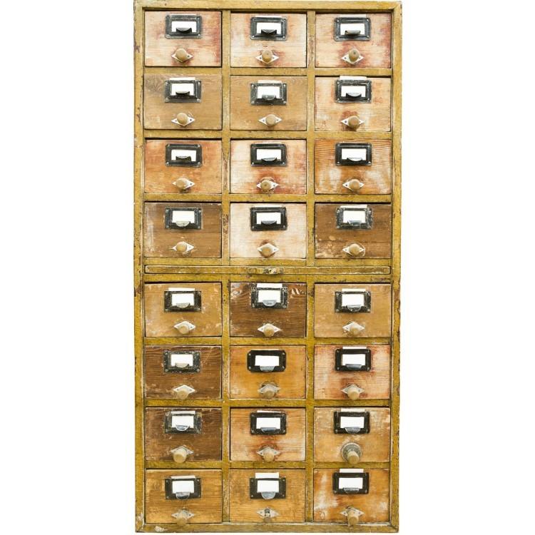 Παλιά Συρταριέρα, Φόντο - Τοίχοι, Ταπετσαρίες Τοίχου