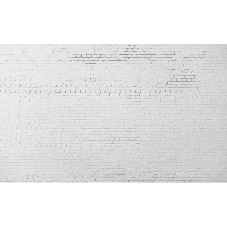 Λευκός Τοίχος με Τούβλα, Φόντο - Τοίχοι, Ταπετσαρίες Τοίχου