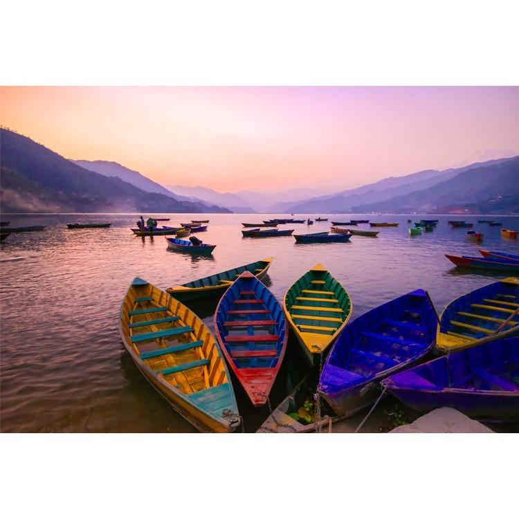 Πολύχρωμες Βάρκες, Φύση, Ταπετσαρίες Τοίχου